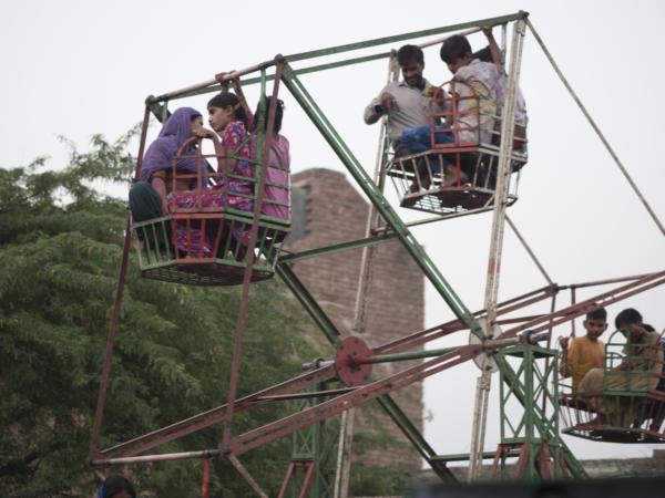 Viaje fotográfico festival holi, india. Photoplanet Viajes Fotográficos. detalle noria india